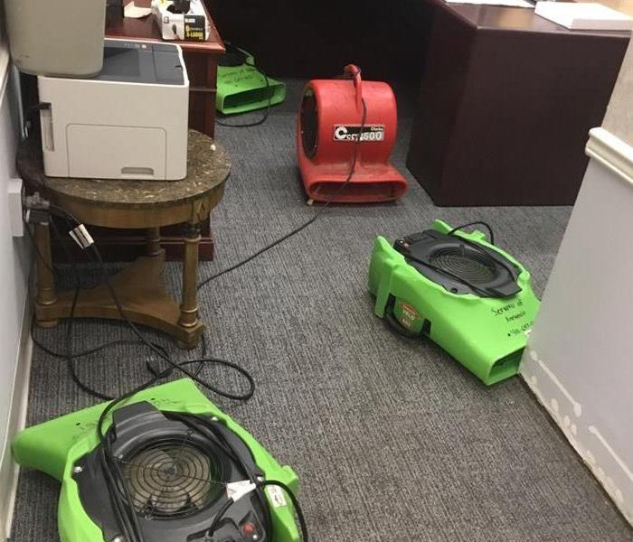 Accountants Office Suffers Water Damage Before