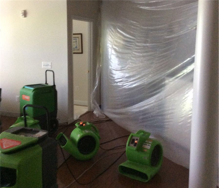 Residential Water Damage After