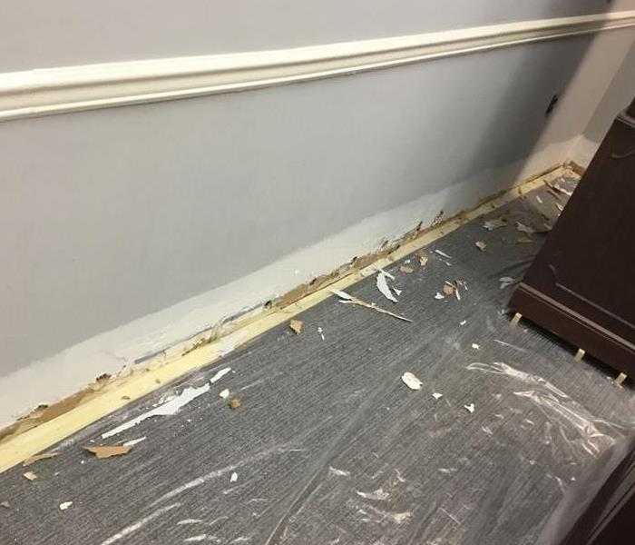 Accountants Office Suffers Water Damage After