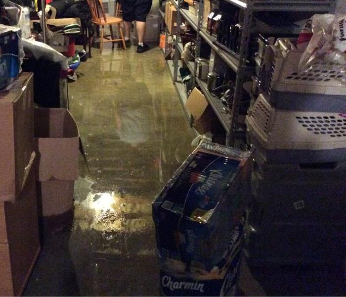 Storm Damage When Storms or Floods hit Southern Anne Arundel County SERVPRO is ready!