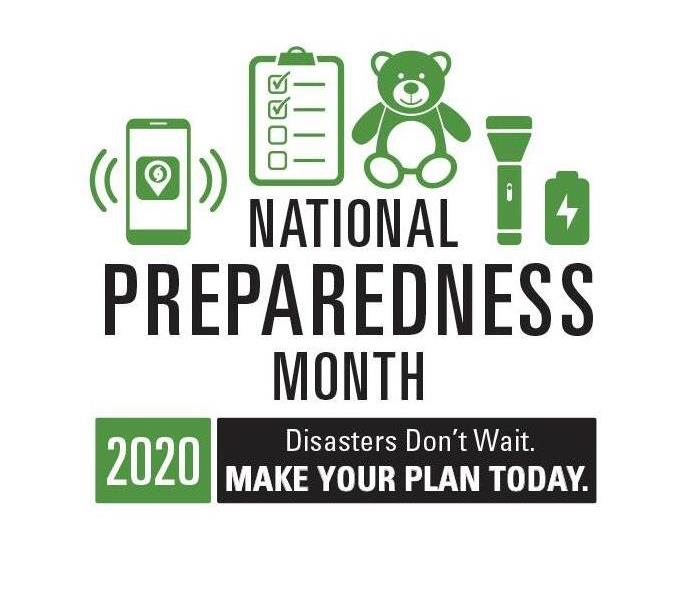 Disasters don't wait. Make your plan today graphic